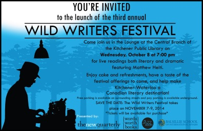 Wild Writers Conf