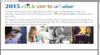 Click Create Celebrate 2015
