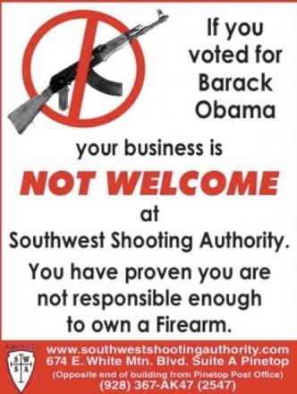 Obama and gunowners