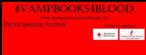 Vampire Books for Blood banner