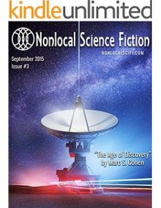 Nonlocal Science Fiction magazine cover