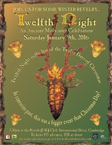 Twelfth Night 2016