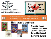 Canadian Authors for Indies Day 2016